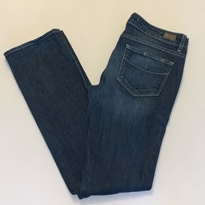 Paige Jimmy Jimmy Straight Distressed Jeans